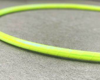 Lemon Drop Polypro Hoop // Performance Polypro Hula Hoop // Choose Your Tubing and Diameter