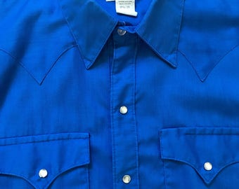 Mens' Vintage Rockmount Western Shirt