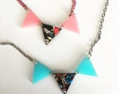 BUNTING CONFETTI Dream laser cut necklace (CHOOSE 1)