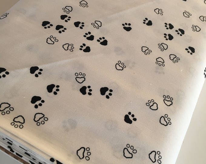 Nest fabric by Art Gallery, Gender Neutral Fabric, Black and White Decor, Nursery, Girl or Boy Baby Quilt, Curious Paws - Choose your cut