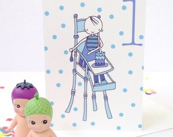 Happy Birthday Icecreams Card - Free Postage