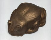 ON SALE Chocolate Frog Inspired Bath Bomb (WITH Charm Inside!)