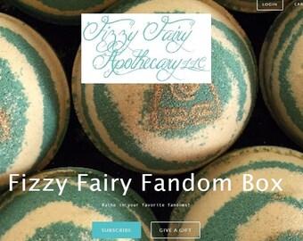 Fizzy Fairy Fandom Box: April Edition (Princesses vs Villains)