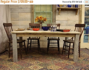 "ON SALE Driftwood Table -  (65""L x 38""W x 29""H)"