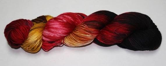 Ready to Ship - Prince Charles Hand Dyed Sock Yarn - Twist Sock