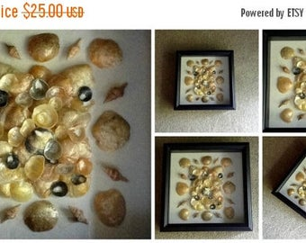 """JULY SALES EVENT Beach Theme Home Decor - Shadow Box - """"Jingle All the Way""""-Cottage Chic- Beach House"""