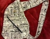 Legend of Zelda Mini Link Shoulder Bag Sling - Cotton Backpack (Guaranteed US shipping by Christmas)