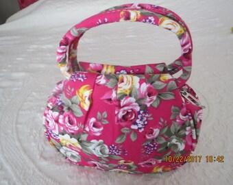 Floral Bag or purse