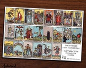 Large Tarot Card Planner Stickers