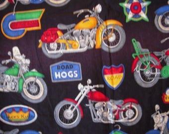 Motorcyle  Toddler/Nap Blanket