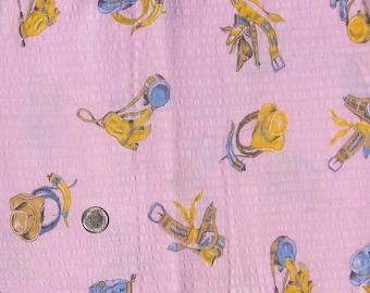 Vintage Cotton Fabric 39 x 43