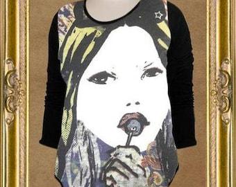 Rock N' Rags Lolli Rock Maternity Concert Shirt Tee