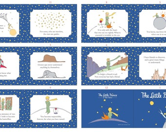 The Little Prince - Navy Prince Soft Book Panel - English - (PD679)