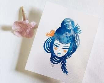 Your inner Goddess 2: miniature painting