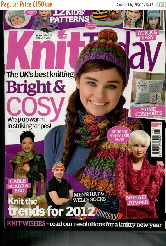 Christmas In July Knit Today Knitting Magazine Issue 68 January 2012