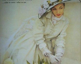 VOGUE COVER ArT– Elegant - Set of 6 notecards with envelopes - VCFC 779