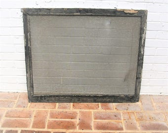 Antique Vintage Window Screen Window Frame With Screen