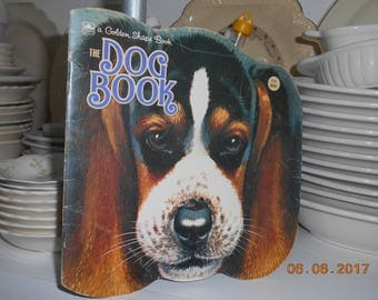 1964 A Golden Shape Book The Dog Book By Jan Pfloog