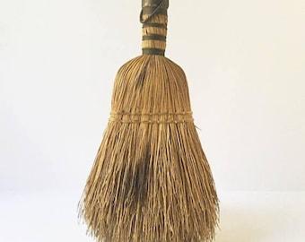 SALE hand Sweeper Small Broom Fireplace sweeper handheld broom Rustic Decor Fixer Upper Decor