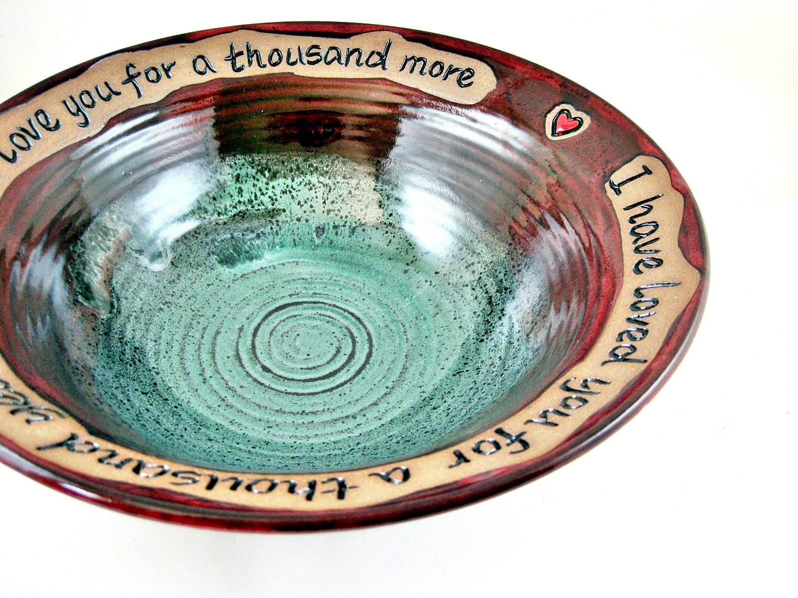 9th Year Wedding Anniversary Gifts: 9th Wedding Anniversary Gift Ninth Anniversary Gift Pottery