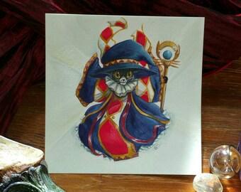 Sprite Witch Cat  Witchtober 13
