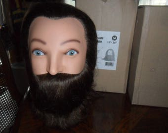 "BRAND NEW Magnum Manikin 18 - 20"" human Hair - yak beard -color level 4"