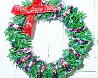 "1"" Christmas Wreath #6"