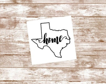 Yeti Tumbler Decal, Texas Decal, Yeti Monogram, Yeti Decal, Texas Sticker, Yeti Cup Decal, Custom Yeti Decal