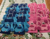 RESERVED LISTING for poumoimoi21 - Blues Clues Bags