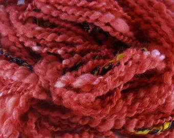 Flamboyant: handspun art yarn