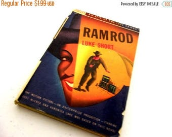 Ramrod by Luke Short-- Collectible Western Mystery Novel -- great for Ranch Country Home Decor