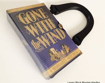 Gone With The Wind Book Purse or Book Clutch - Gone With The Wind Collector Gift - Scarlett O Hara Costume Purse - Southern Belle HandBag