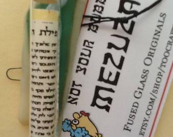 Not Your Bubbe's Mezuzah Case