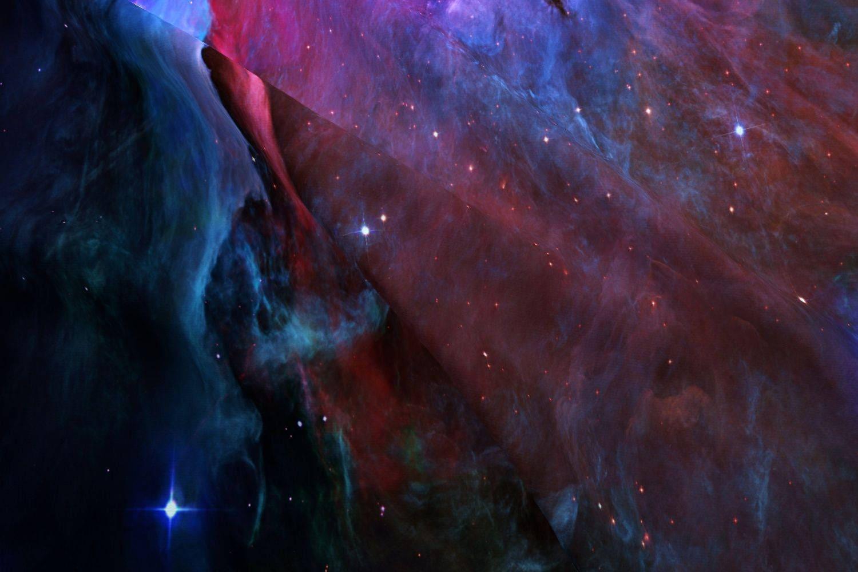 Orion nebula galaxy fabric orion nebula hubble 2006 for Nebula fabric by the yard