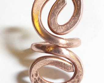 Hand Wrought Copper Ring