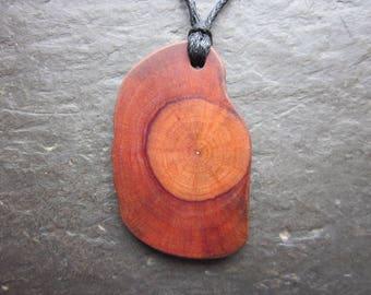 Unique Natural Wood Pendant - Root of Alder - for Faery Magic.