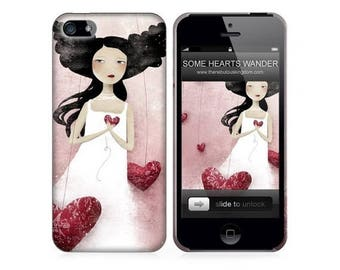 10% Off - Summer SALE Phone Case - SomeHearts Wander - iPhone 4 - 4S iPhone 5 - Samsung Galaxy