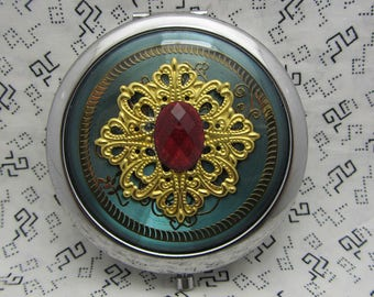 Compact Mirror Breathless Comes With Pouch Gift Under 18 Gift For Her