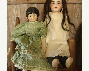 ONSALE Vintage Antique Large German Doll N0 5 Original