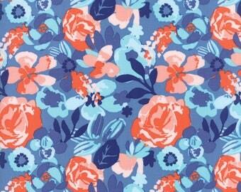 Blue Voyage Fabric - 27281 13 - Kate Spain - Moda