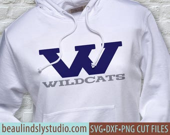 Wildcats Team SVG, Wildcats SVG, Any Sport SVG File, Team Sport svg, Football Mom svg, svg File For Silhouette, svg File For Cricut Project