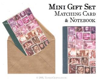 Dusklight Mini Gift Set - Notebook & Notecard + optional Writing Paper