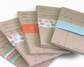 KRAFT / BUFF Library Book Cards, Blank Library Cards, Journal, Project Life, Daily Planner Cards, Wedding Invitations