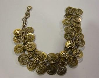 Tribal Celtic chain Sissi steel strand bracelet