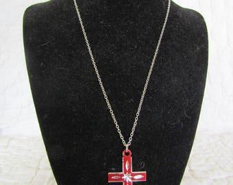 Vintage Necklace Cross