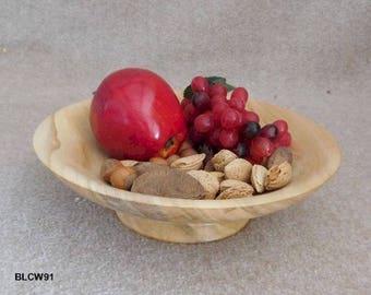 Beautiful Cottonwood Pedestal Bowl