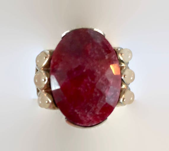red moonstone ring - photo #4
