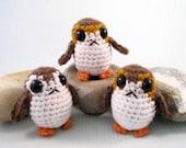 Porg - Star Wars Mini Amigurumi Pattern PDF - Crochet Pattern