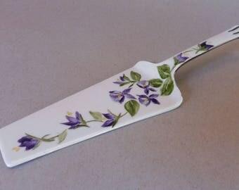 Purple Violet Pie or Cake Server