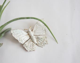 ghost moth brooch